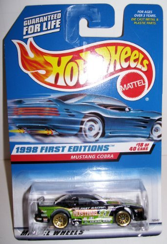 1998 First Editions Hotwheels Mustang Cobra - 1