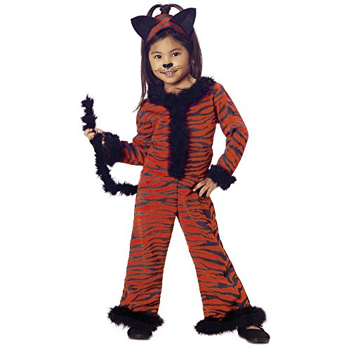 Child's Toddler Tiger Girl Costume (2-4T)