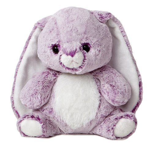 Candy Cuddles Bunny Plush, Lavender, 10