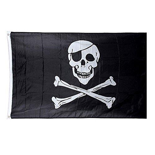 5 * 3 ft. Jolly Roger Skull Pirate Flag
