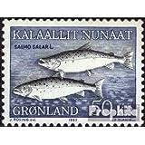 sellos para coleccionistas: Dinamarca-Groenlandia 140 (completa.edición.) matasellado 1983 Atlántico Salmón
