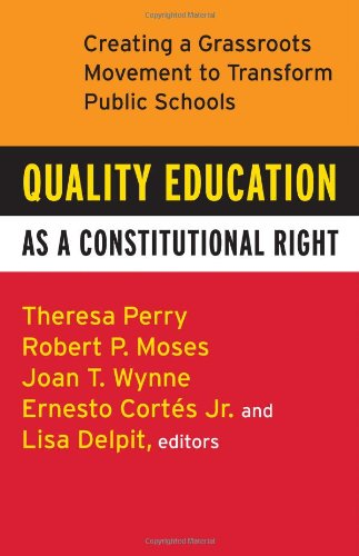 Quality Education as a Constitutional Right: Creating a...
