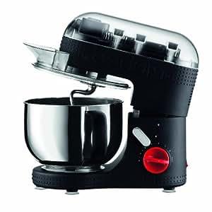 BODUM 11381-01US Bistro Electric Stand Mixer, 4.7-Liter, Black