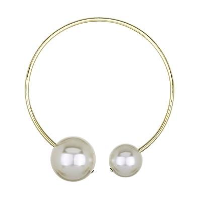 pearl wire choker