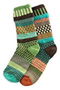 Solmate September Sun Mismatched Made in USA Socks