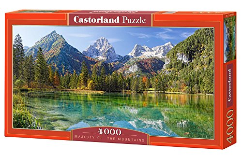 Castorland C-400065-2 - Majesty of the Mountains,