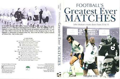 Footballs Greatest Ever Matches - Vol 1