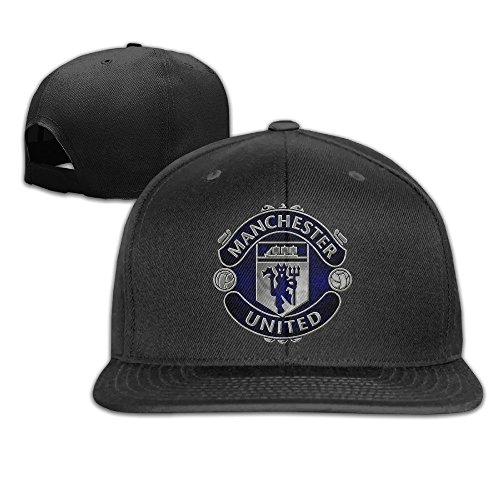 male-female-uefa-champions-league-manchester-united-logo-cotton-flat-snapback-baseball-caps-adjustab