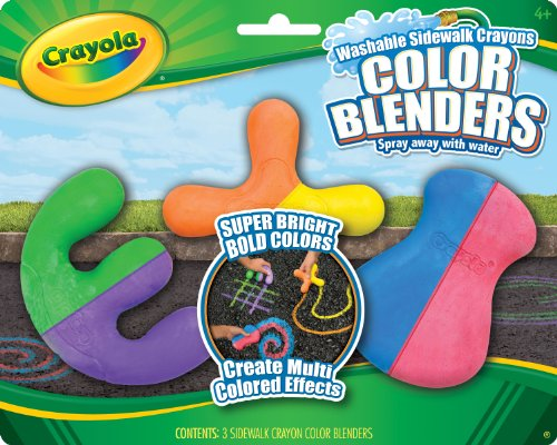 Crayola 3ct Sidewalk Crayon Blenders
