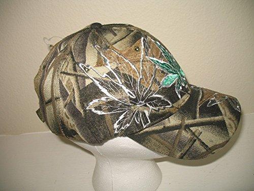 Camoflauge-Camo-Embroidered-Weed-Marijuana-Joint-Blunt-Shadow-Hat-Cap
