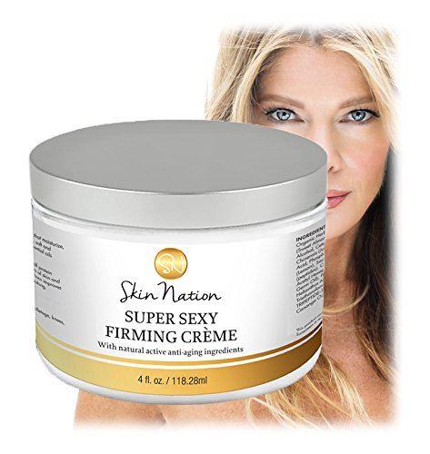 Super Sexy Firming Crème with Natural Active Anti-aging and Firming Ingredients - The Best Way to Promote Smooth and More Youthful Looking Skin! Skin Nation by Michelle Stafford (Extra Virgin Aloe Vera Gel compare prices)