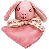 Miyim Simply Organic Lovie Blankie, Bunny, 0-3 Months (Discontinued by Manufacturer)