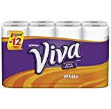 Viva Giant Roll Paper Towels, White, 8 Rolls, Pack of 4 (32 rolls)