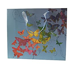 Multi Color Butterfly Gift Bag (Set of 2)