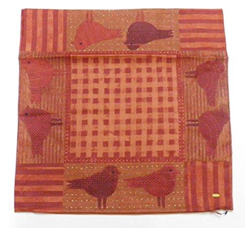 JIM THOMPSON(ジムトンプソン) タイシルク クッションカバー 40×40 鳥柄