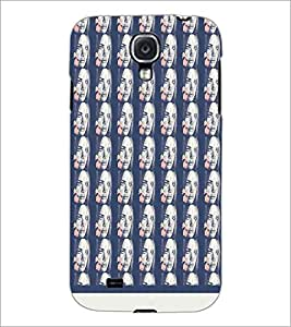 PrintDhaba Face pattern D-1533 Back Case Cover for SAMSUNG GALAXY S4 (Multi-Coloured)