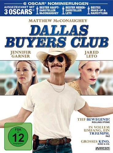 Dallas Buyers Club Mediabook (exklusiv bei Amazon.de) [Blu-ray]