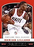 2012 /13 Panini Basketball Rookie Card #262 Damian Lillard Portland Trail Blazers