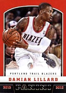 2012  13 Panini Basketball Rookie Card #262 Damian Lillard Portland Trail Blazers In... by Panini Basketball