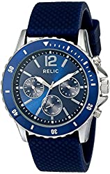 Relic Men's ZR15774 Jaxton Silvertone Watch