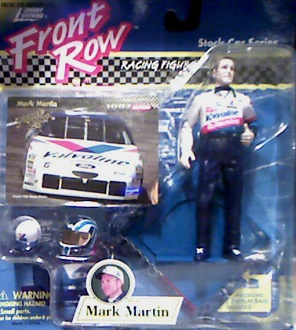 Mark Martin Front Row Racing Figurine - Stock Car Series First Edition