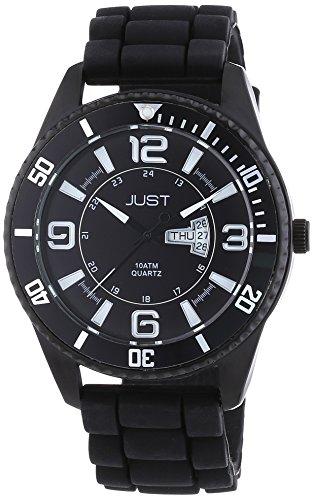 Just Watches - Orologio da polso, analogico al quarzo, caucciù, Uomo