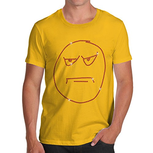 TWISTED ENVY - Top - Maniche corte  - Uomo giallo X-Large