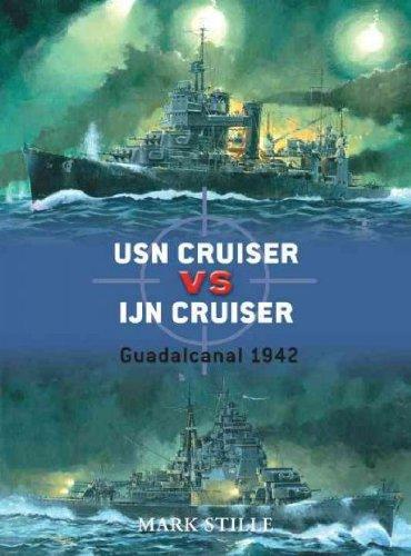 USN Cruiser vs IJN Cruiser: Guadacanal 1942