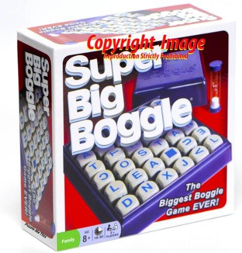 Imagen de Juego Super Boggle grande con rejilla 6x6 y 36 Ciubes Carta