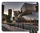 beautiful disney concert hall in los angeles hdr Mouse Pad, Mousepad (Modern Mouse Pad)
