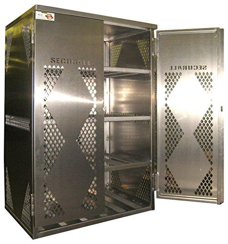 Securall LP12S LP/OG Storage Cabinet - Alum. (Propane Tank Alum compare prices)