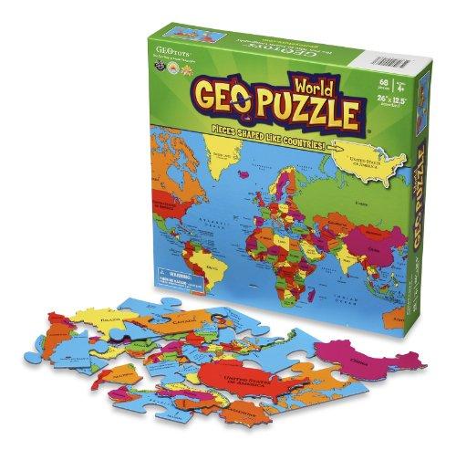 GeoPuzzle World - Educational Geography Jigsaw