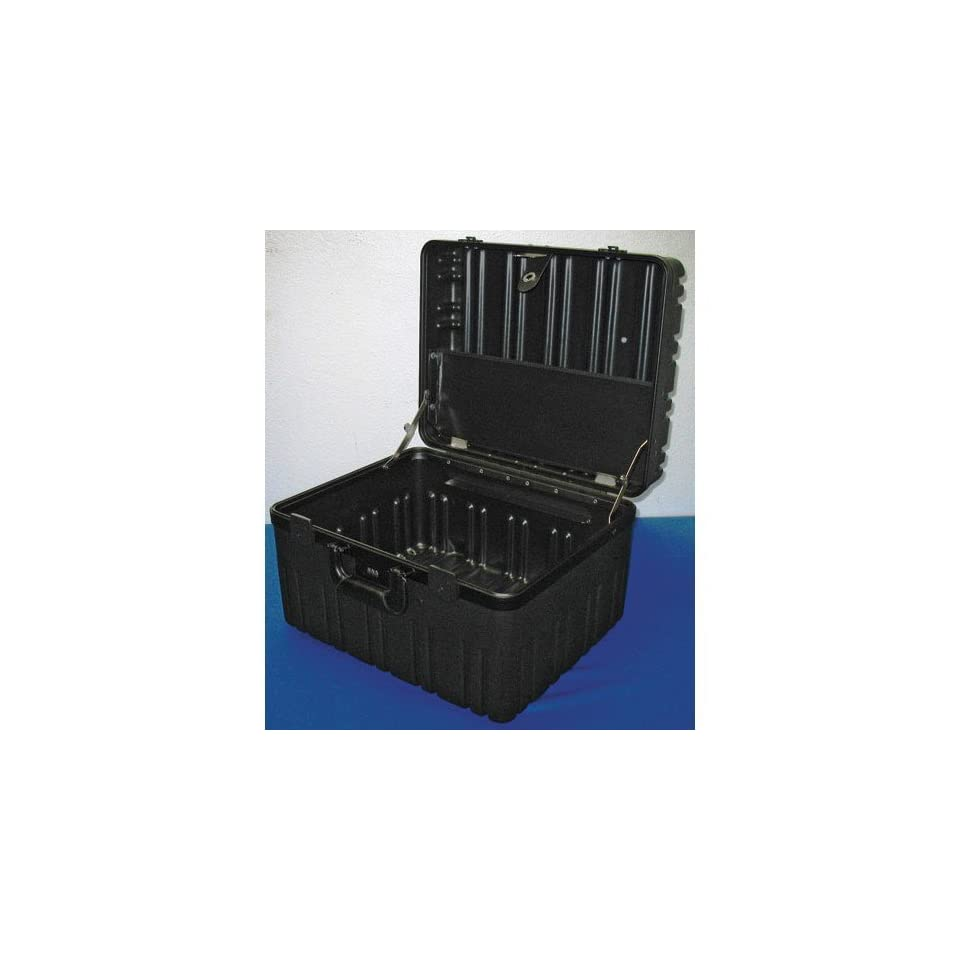 Jensen Tools 2B909 8C D Roto Rugged Case, Empty. 10 Deep   W/O Wheels