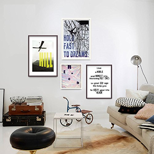 yupd foto rahmen wand kombination minimalistische moderne dekorative wandmalerei und fotowand. Black Bedroom Furniture Sets. Home Design Ideas