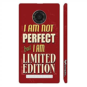 Micromax Yu Yuphoria Limited Edition designer mobile hard shell case by Enthopia