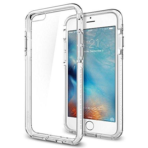 Spigen iPhone6s Plus ケース / iPhone6 Plus ケース, ウルトラ・ハイブリッド テック [ 背面 クリア ] アイフォン6s プラス 用 米軍MIL規格取得 耐衝撃カバー (クリスタル・ホワイト SGP11745)
