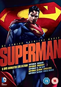 Superman Animated Movie Collection [DVD] [2013]