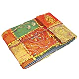 R S Jewels Embroidered Stitched Photo Album Handmade Vintage Recycl Paper