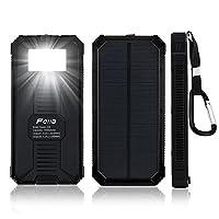 Fetta 15000mAh Portable Solar Power Bank...