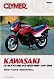 Penton Kawasaki EX500,1987-1993, Ninja 500R 94-02, GPZ500S 94-02 (Clymer Motorcycle Repair)