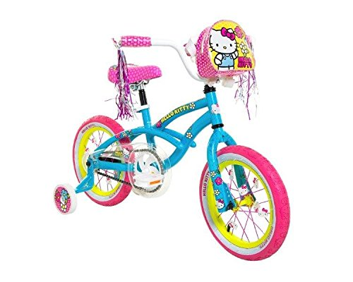Bike 14 Inch Pony Bike Blue Pink Yellow