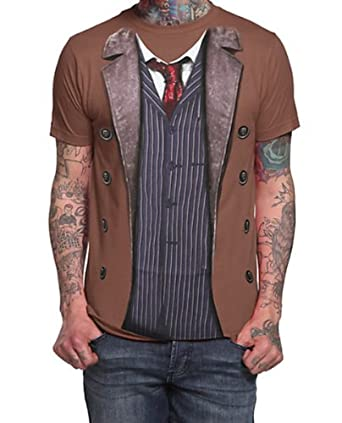 Doctor Who 10th Doctor Costume T-shirt (Small)