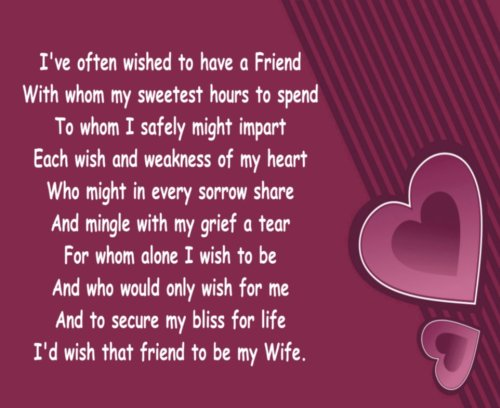 MOUSE MAT 1183 I OFTEN WISHED FOR A FRIEND ROMANTIC