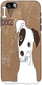 Snoogg Cute Jack Russell Terrier Brilliant Card For Doglovers Designer Protec...