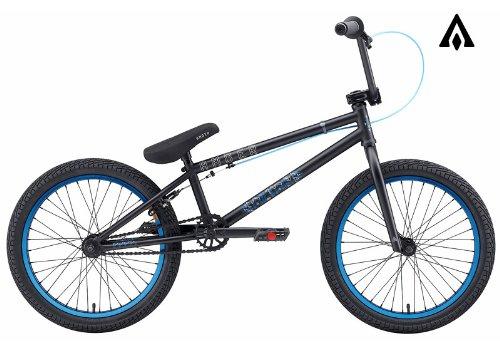 Amber Altar Matte Black BMX Bike