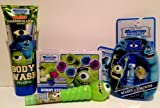 Monsters University Toasted Marshmallow Body Wash, Lip Balm, Light Up Candy Spinner, & Gummy Eyeballs