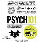 Psych 101: Psychology Facts, Basics, Statistics, Tests, and More! Hörbuch von Paul Kleinman Gesprochen von: Fred Sanders