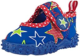 Playshoes UV Protection Star Collection Aqua Swimming / Beach Shoes (7 M US Toddler)