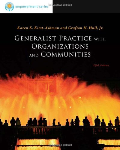 Brooks/Cole Empowerment Series: Generalist Practice with...