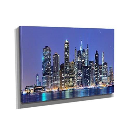 new-york-east-river-kunstdruck-auf-leinwand-50x75-cm-zum-verschonern-ihrer-wohnung-verschiedene-form